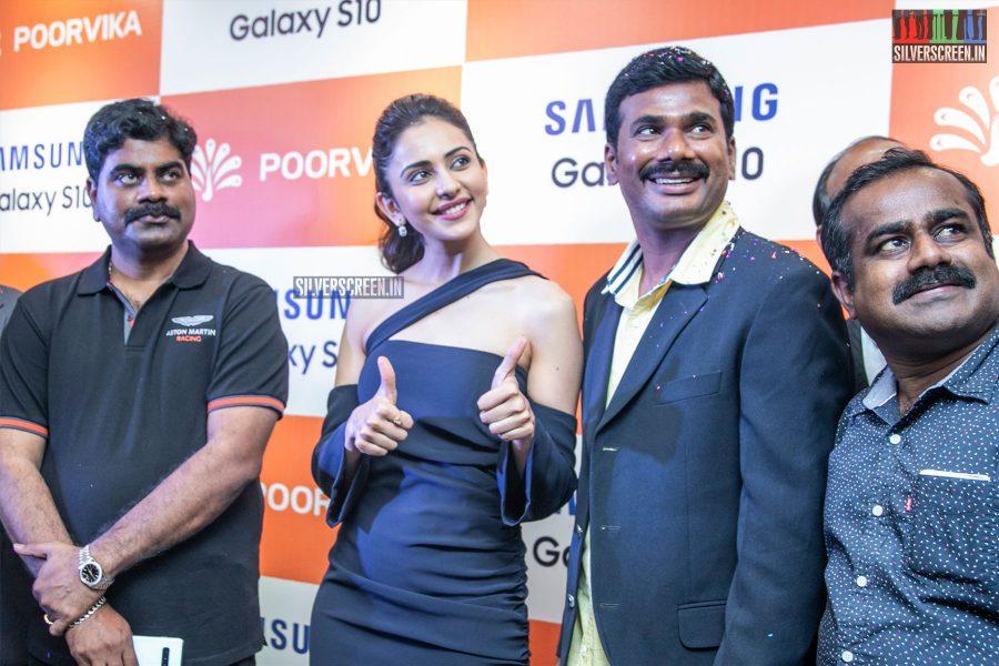 Rakul Preet Singh At The Launch Of A Smartphone In Chennai