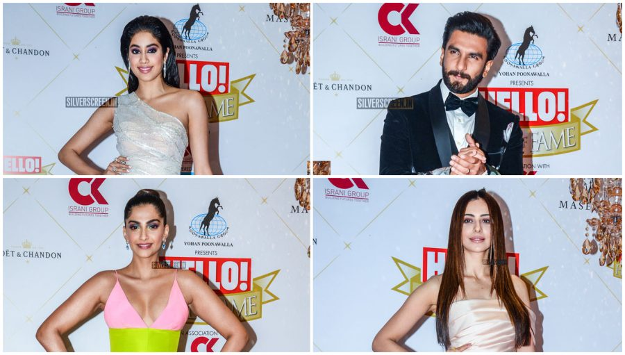 Celebrities At The 'Hall Of Fame Awards 2019'