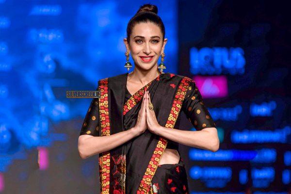 Karisma Kapoor Walks The Ramp At The 'Delhi Fashion Week 2019 – Day 2'