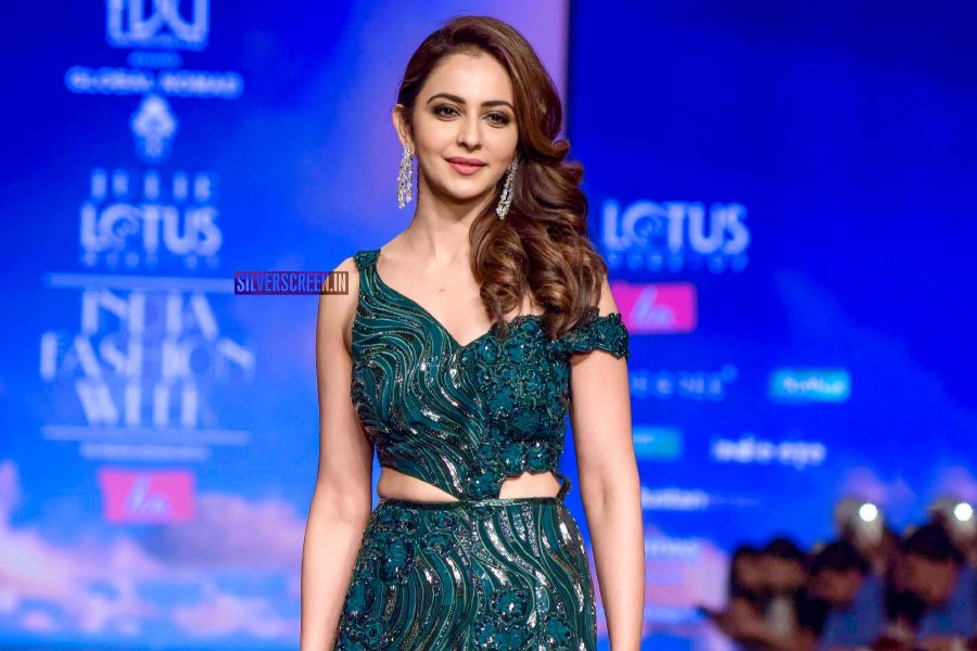 Rakul Preet Singh Walks The Ramp At The 'Delhi Fashion Week 2019 – Day 2'