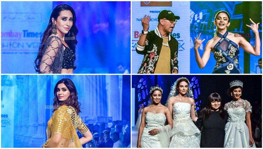 Rakul Preet Singh, Karisma Kapoor Walks The Ramp At 'Bombay Times Fashion Week 2019'