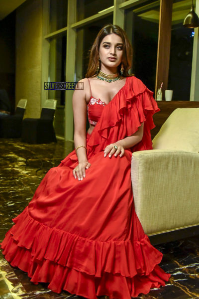 Nidhhi Agerwal  'Teach For Change' Event