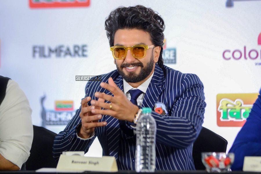 Ranveer Singh At The Filmfare 2019 Press Meet