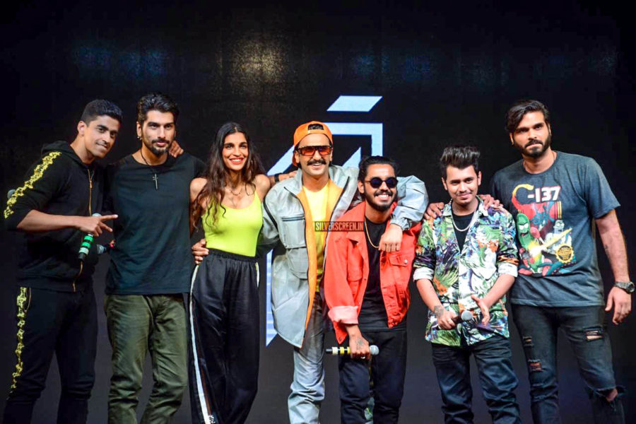 Ranveer Singh At The Launch Of 'IncInk' Record Label