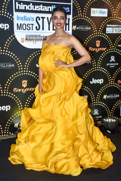 Radhika Apte At The 'Hindustan Times India Most Stylish Awards 2019'