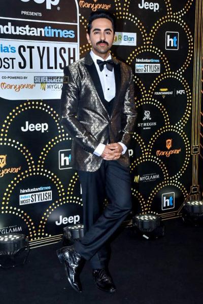 Ayushmann Khurrana At The 'Hindustan Times India Most Stylish Awards 2019'