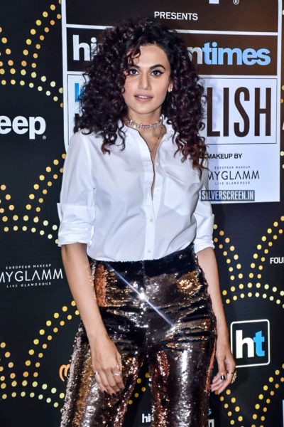 Taapsee Pannu At The 'Hindustan Times India Most Stylish Awards 2019'