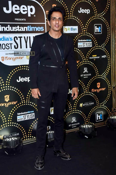 Sonu Sood At The 'Hindustan Times India Most Stylish Awards 2019'