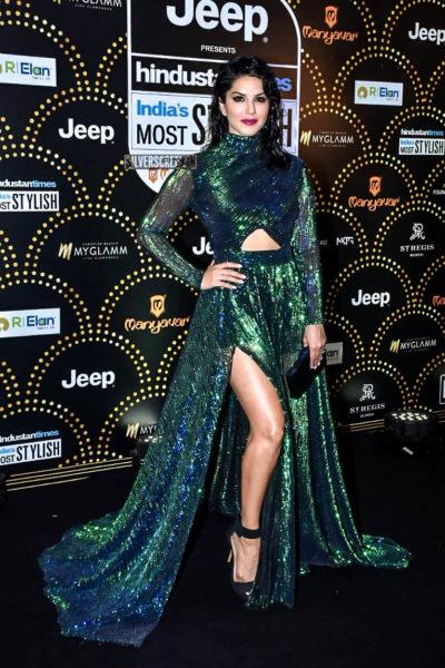 Sunny Leone At The 'Hindustan Times India Most Stylish Awards 2019'