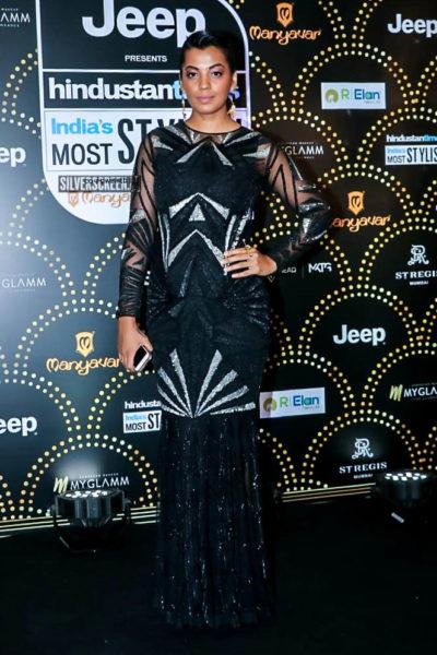 Mugdha Godse At The 'Hindustan Times India Most Stylish Awards 2019'