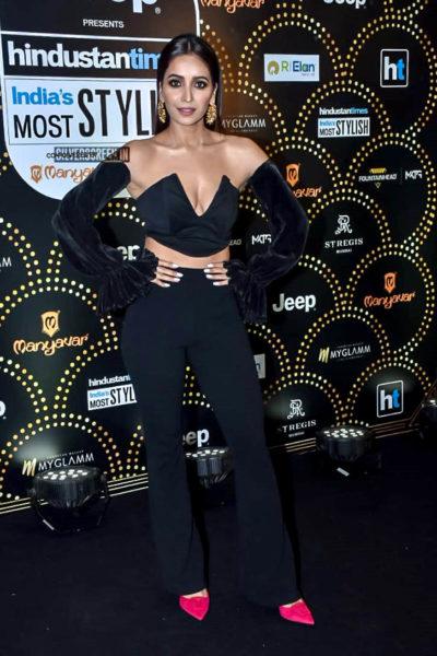 Asha Negi At The 'Hindustan Times India Most Stylish Awards 2019'