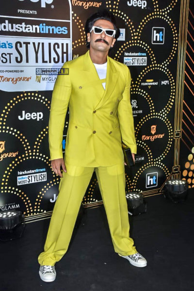 Ranveer Singh At The 'Hindustan Times India Most Stylish Awards 2019'