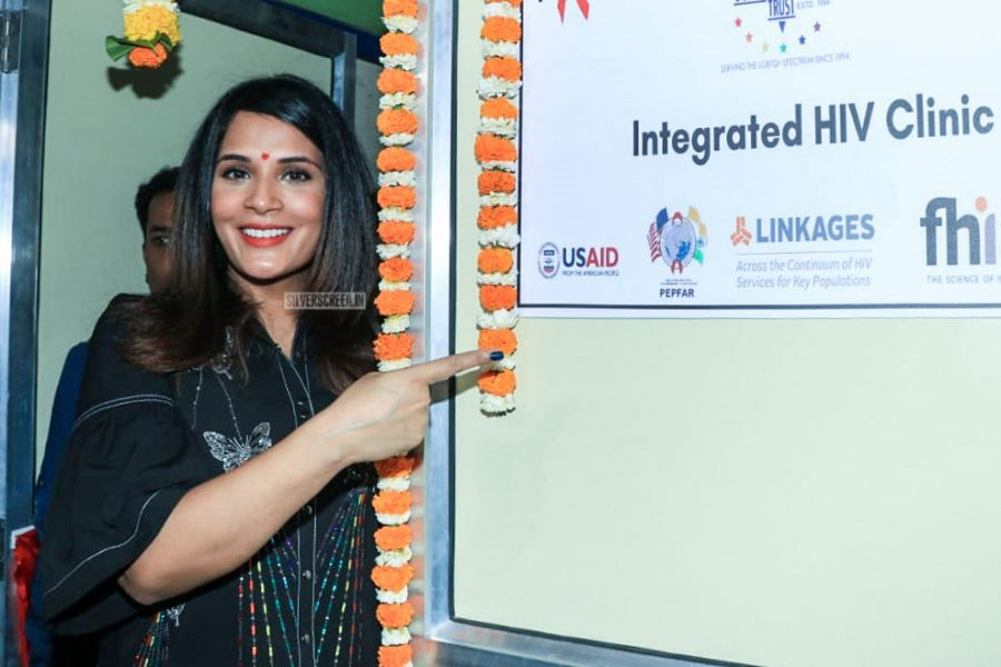 Richa Chadda At The Launch Of A LGBTQ Clinic