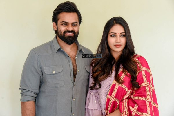 Sai Dharam Tej, Nivetha Pethuraj At The 'Chitralahari' Teaser Launch
