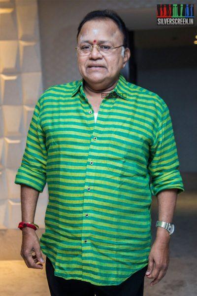 Radha Ravi At The 'Kolaiyuthir Kaalam' Trailer Launch & Press Meet