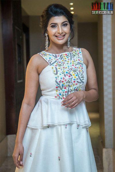 Rajshri Ponappa At The 'Kolaiyuthir Kaalam' Trailer Launch & Press Meet