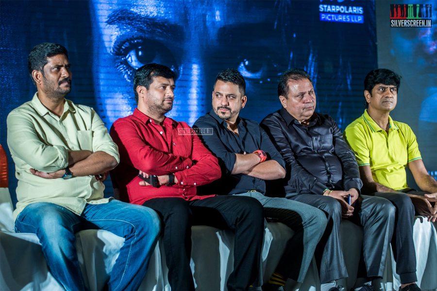 Celebrities At The 'Kolaiyuthir Kaalam' Trailer Launch & Press Meet