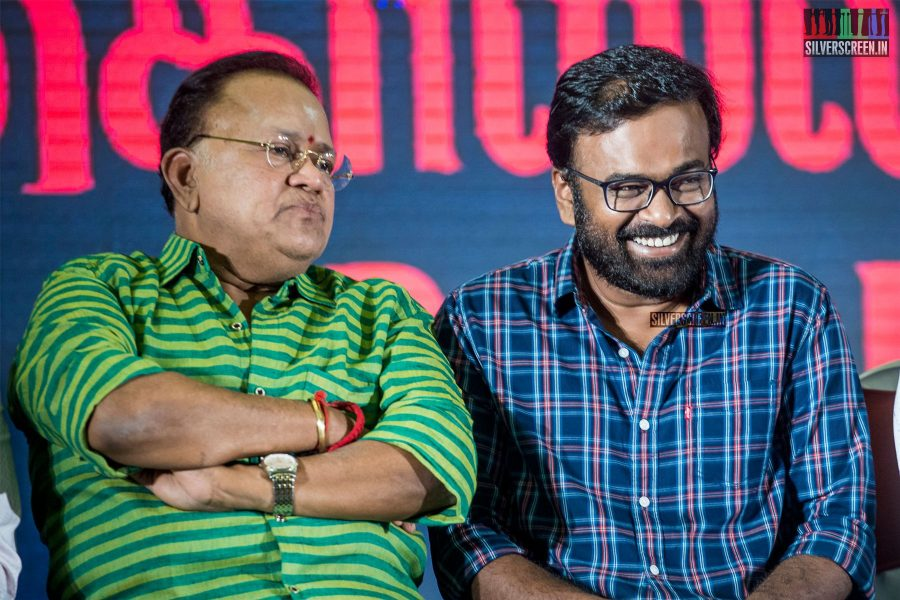 Karu Pazhaniappan, Radha Ravi At The 'Kolaiyuthir Kaalam' Trailer Launch & Press Meet