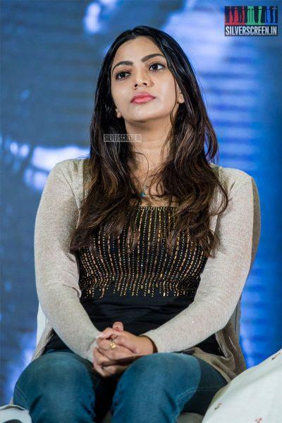 Sai Priya At The 'Kolaiyuthir Kaalam' Trailer Launch & Press Meet