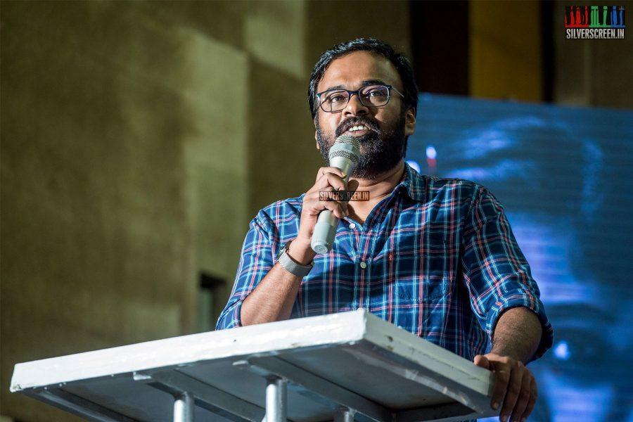 Karu Pazhaniappan At The 'Kolaiyuthir Kaalam' Trailer Launch & Press Meet