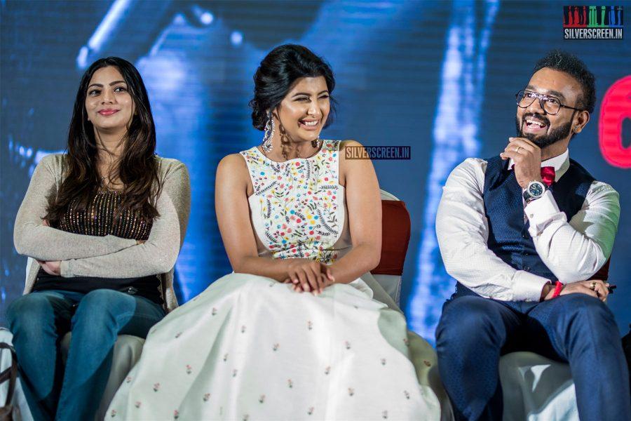 Rajshri Ponappa, Sai Priya At The 'Kolaiyuthir Kaalam' Trailer Launch & Press Meet