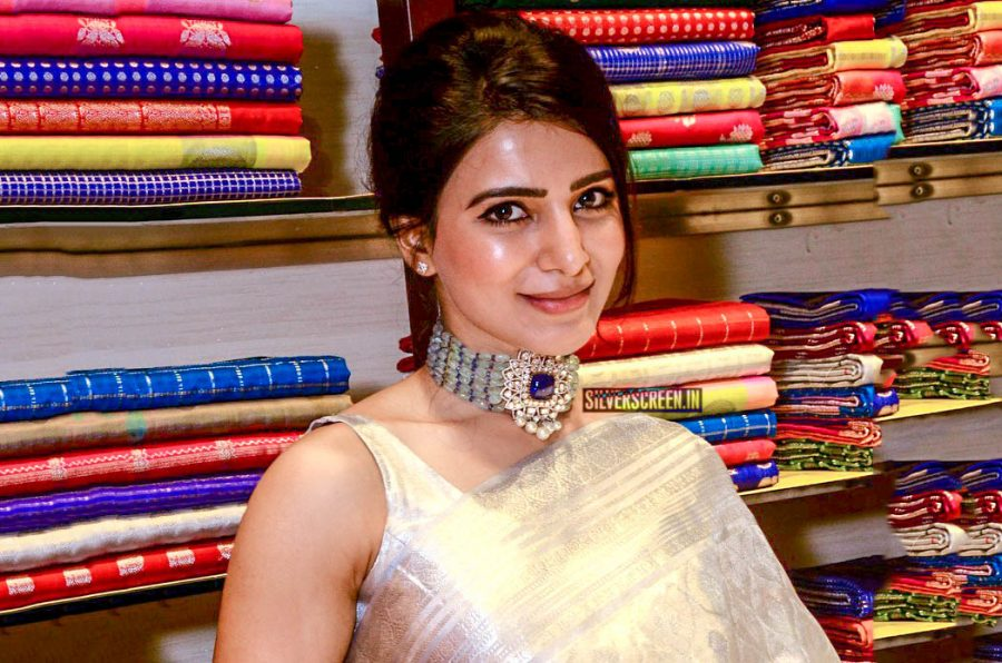 Samantha Akkineni At A Store Launch