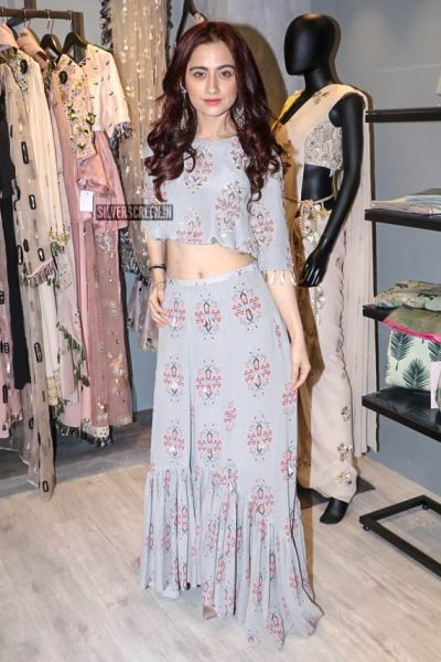 Sanjeeda Sheikh At The Launch Of A Turkish Art Inspired Fashion Range In Mumbai