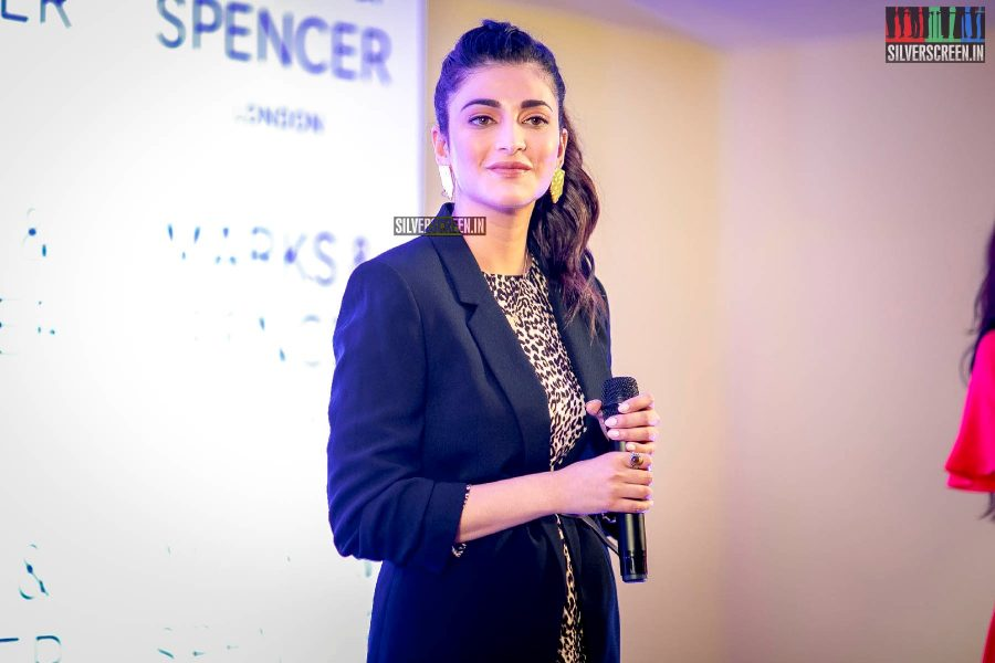 Shruti Hassan At A Store Launch In Chennai