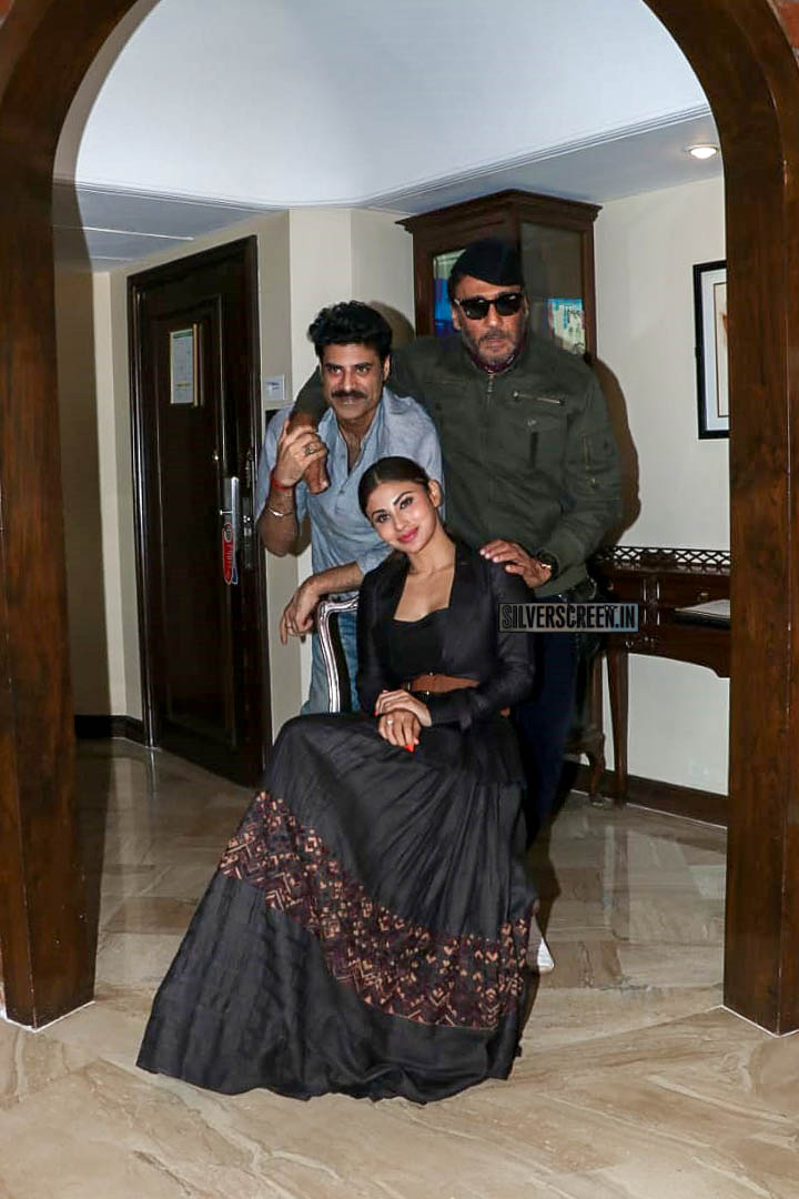 Sikander Kher, Mouni Roy, Jackie Shroff Promte 'Romeo Akbar