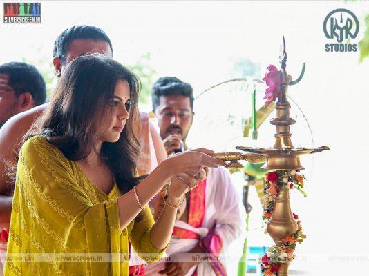 Kalyani Priyadarshan At The 'Hero' Movie Launch