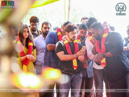 Robo Shankar At The 'Hero' Movie Launch