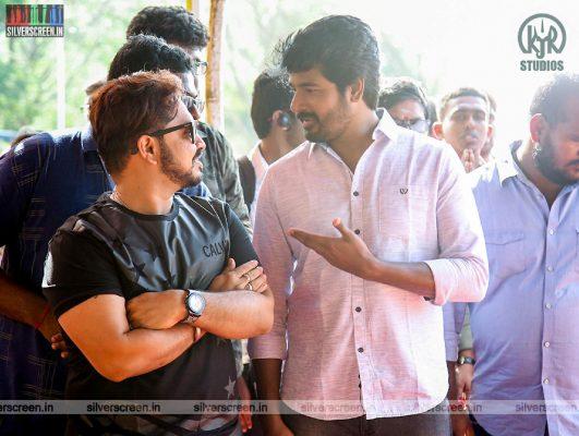 Sivakarthikeyan At The 'Hero' Movie Launch