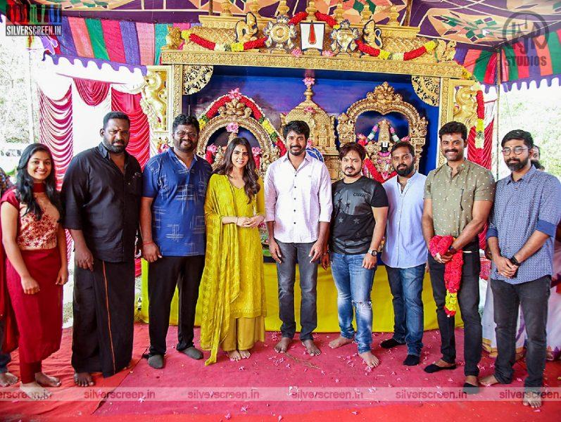 Sivakarthikeyan, Kalyani Priyadarshan At The 'Hero' Movie Launch