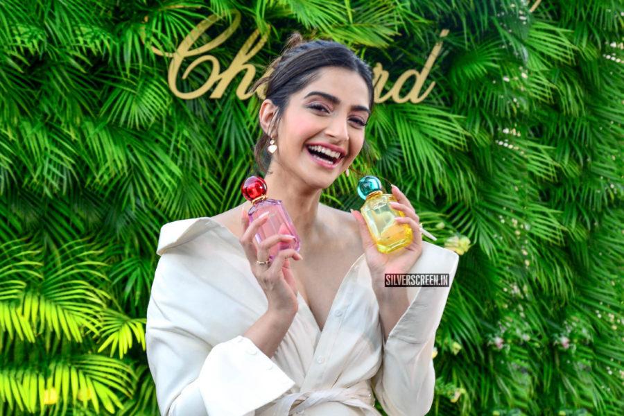 Sonam Kapoor At A Perfume Launch