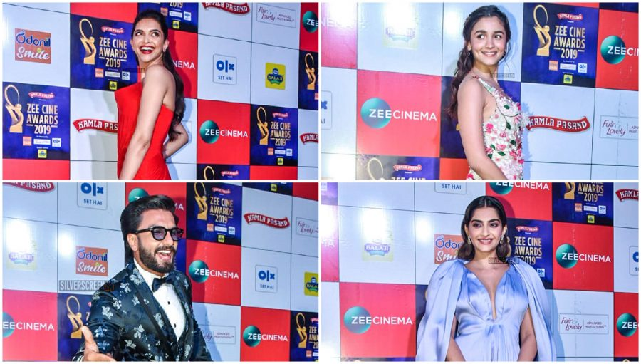 Celebrities At The 'Zee Cine Awards 2019'
