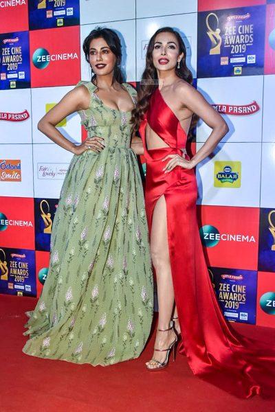 Chitrangada Singh, Malaika Arora At The 'Zee Cine Awards 2019'