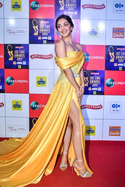 Kiara Advani At The 'Zee Cine Awards 2019'