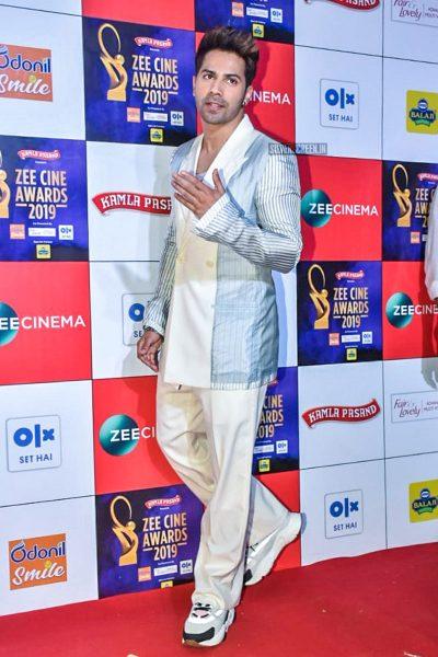 Varun Dhawan At The 'Zee Cine Awards 2019'