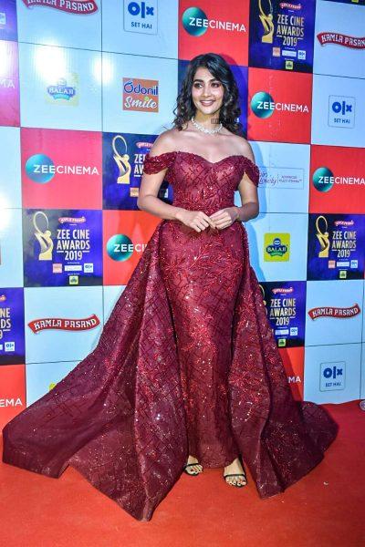 Pooja Hegde At The 'Zee Cine Awards 2019'