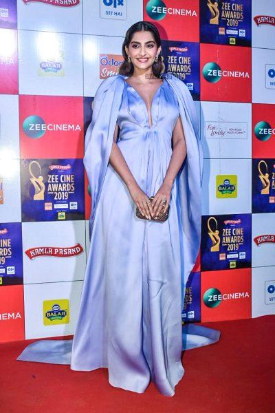 Sonam Kapoor At The 'Zee Cine Awards 2019'