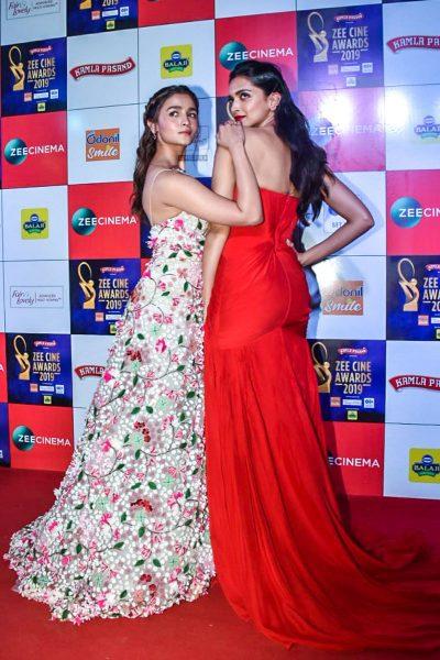 Alia Bhatt, Deepika Padukone At The 'Zee Cine Awards 2019'