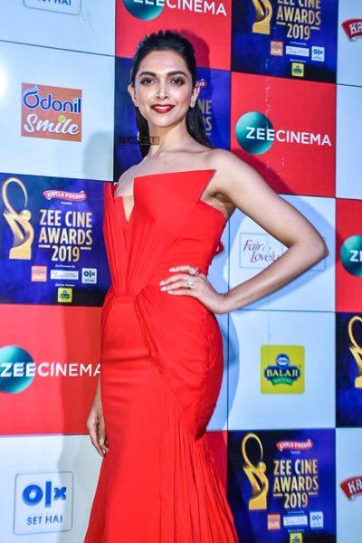 Deepika Padukone At The 'Zee Cine Awards 2019'