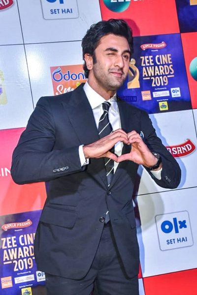 Ranbir Kapoor At The 'Zee Cine Awards 2019'