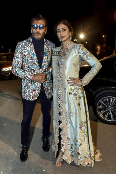 Jackie Shroff, Tabu At The Filmfare Anniversay Party