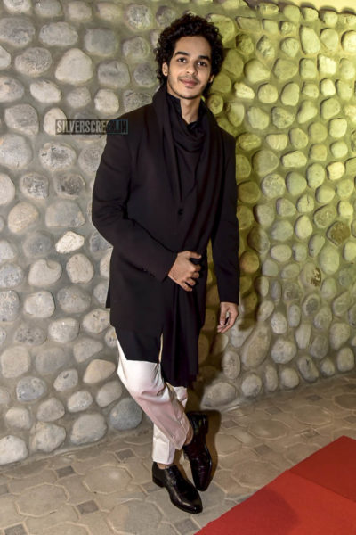 Ishaan Khattar At The Filmfare Anniversay Party