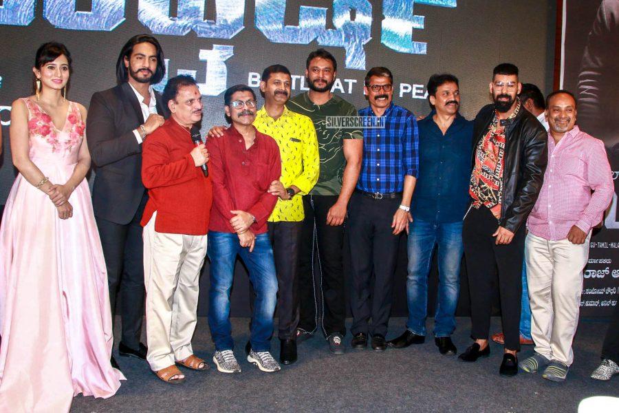 Celebrities At The 'Uchakattam' Trailer Launch