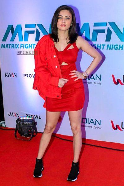 Sneha Ullal At 'Matrix Fight Night' Event