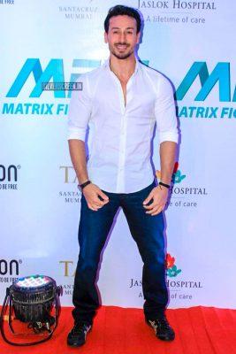 Tiger Shroff At 'Matrix Fight Night' Event