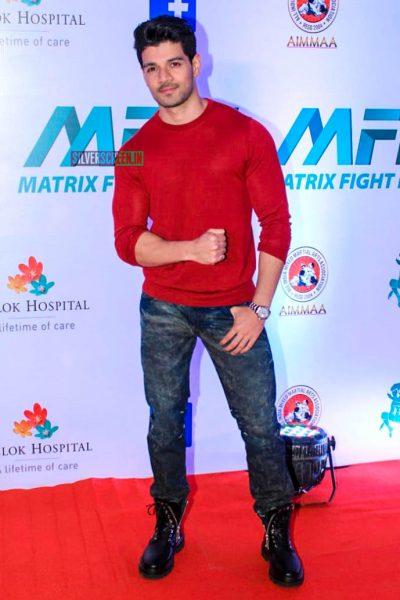 Sooraj Pancholi At 'Matrix Fight Night' Event