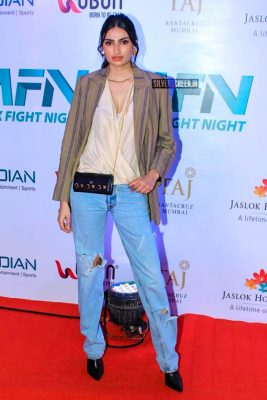 Athiya Shetty At 'Matrix Fight Night' Event